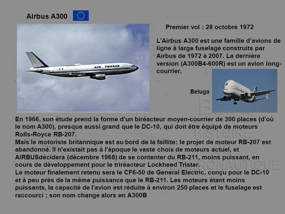 Airbus A300 Premier vol : 28 octobre 1972