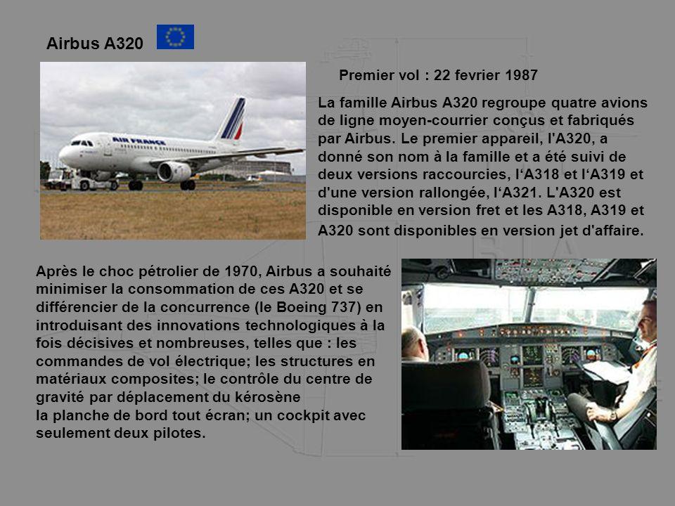 Airbus A320 Premier vol : 22 fevrier 1987
