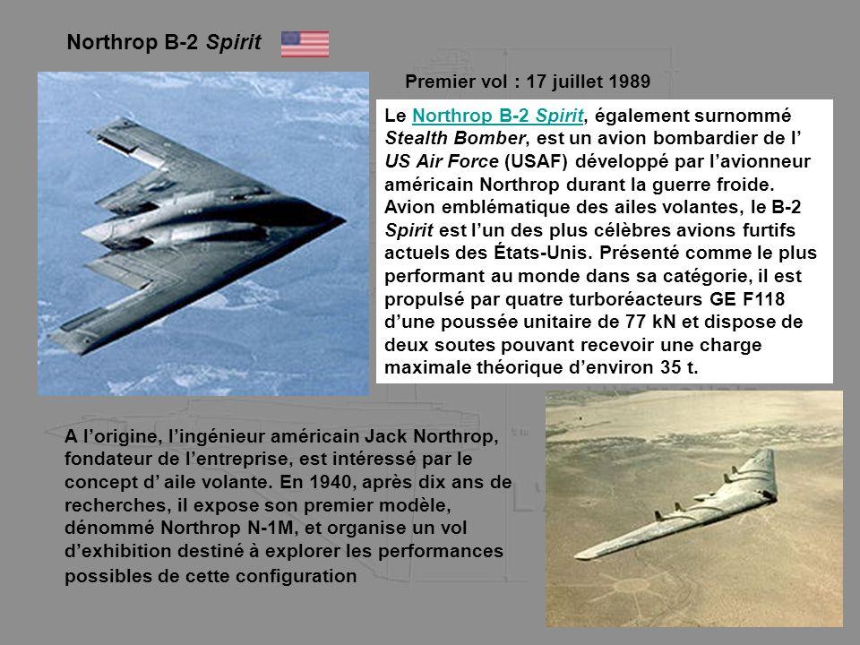 Northrop B-2 Spirit Premier vol : 17 juillet 1989