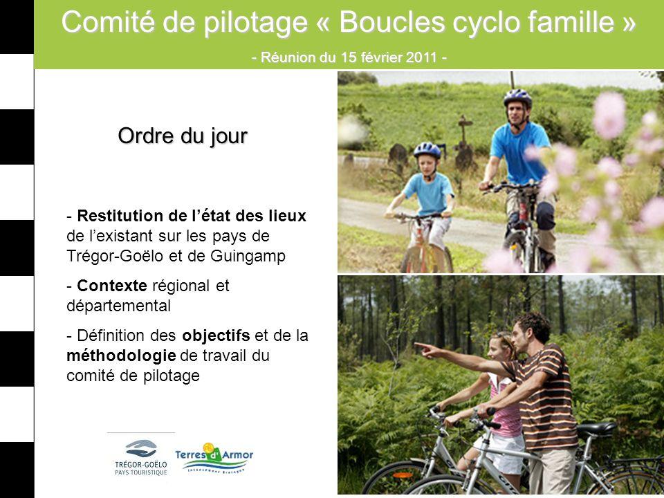 Comité de pilotage « Boucles cyclo famille »