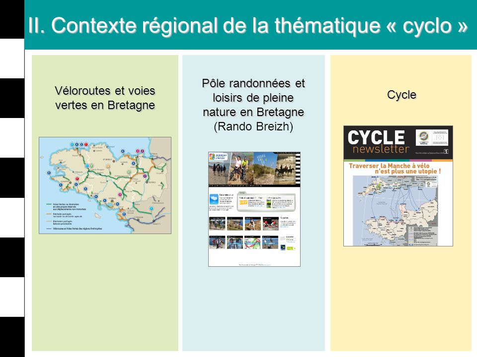II. Contexte régional de la thématique « cyclo »