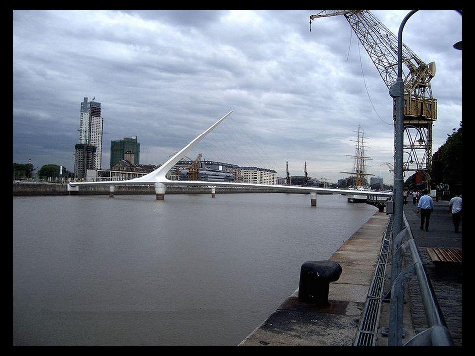 Port de Madero - Buenos Aires - Pont de la femme