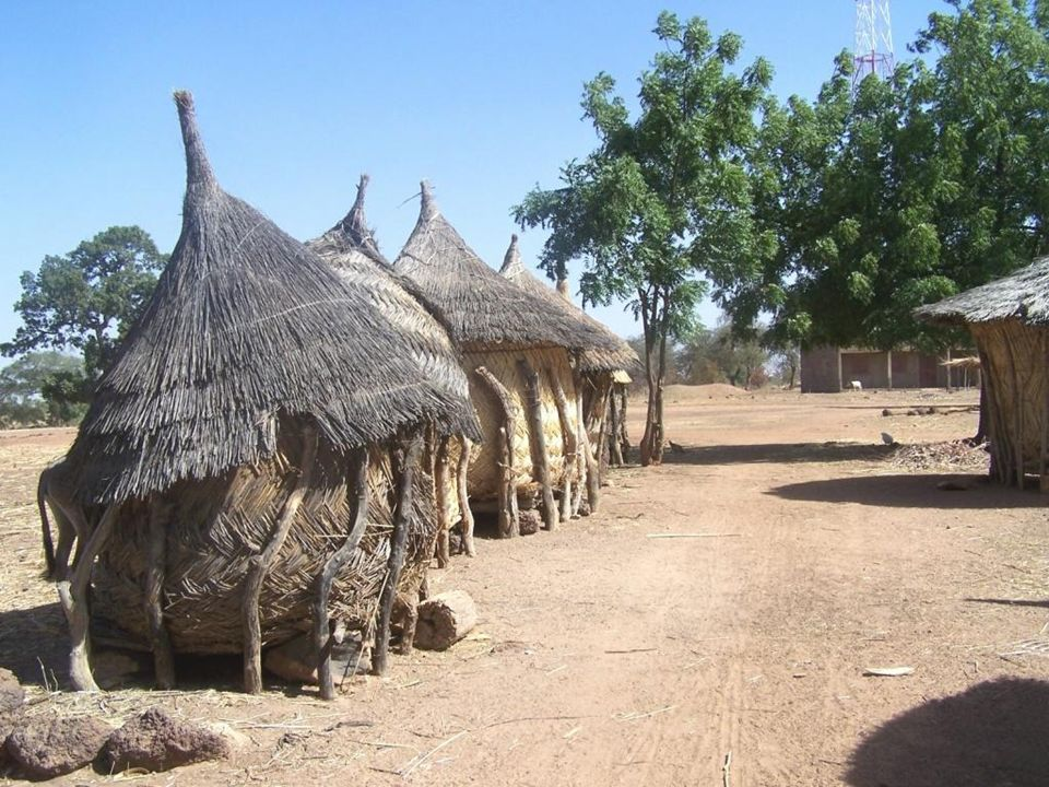 Greniers à mils - Burkina Faso