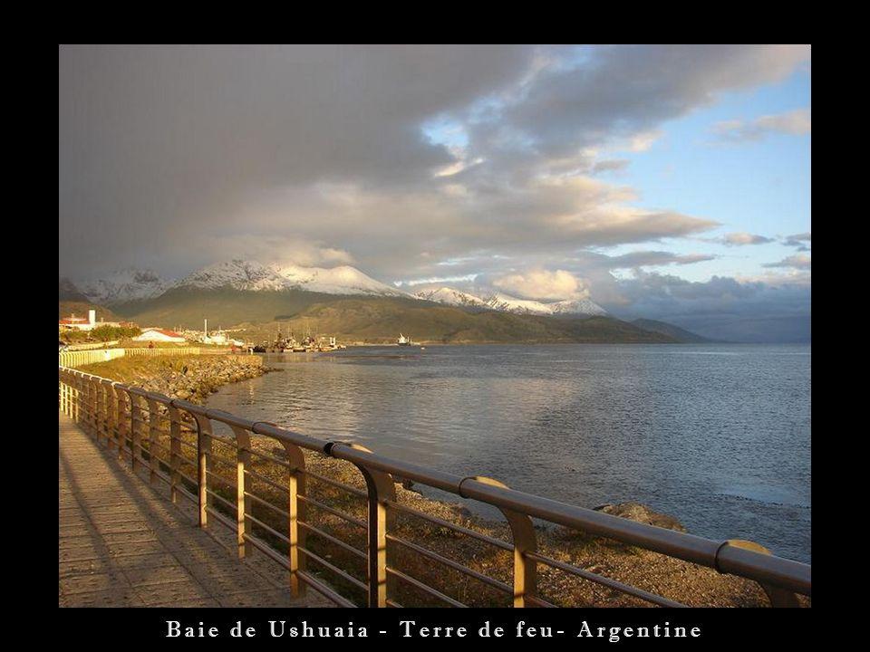 Baie de Ushuaia - Terre de feu- Argentine
