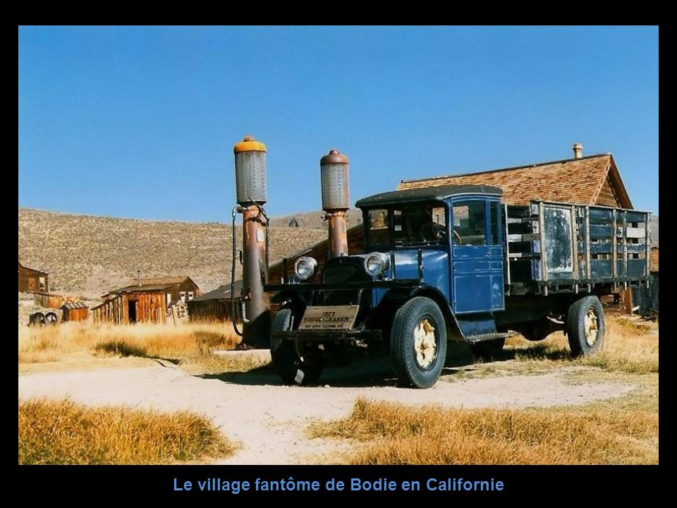 Le village fantôme de Bodie en Californie