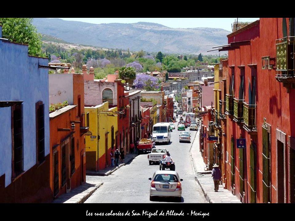 Les rues colorées de San Miguel de Allende - Mexique