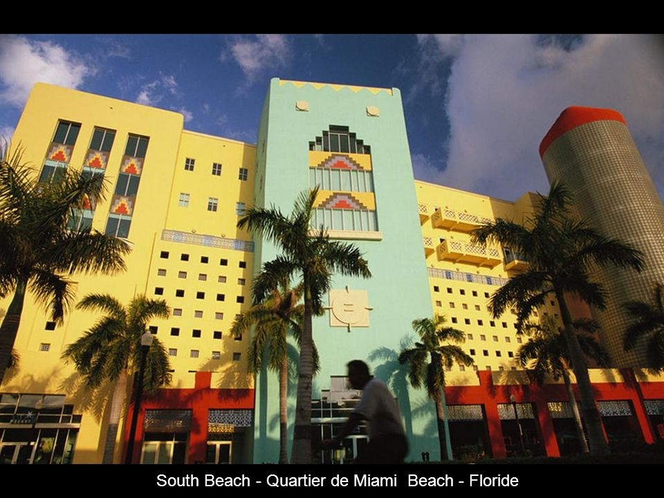 South Beach - Quartier de Miami Beach - Floride