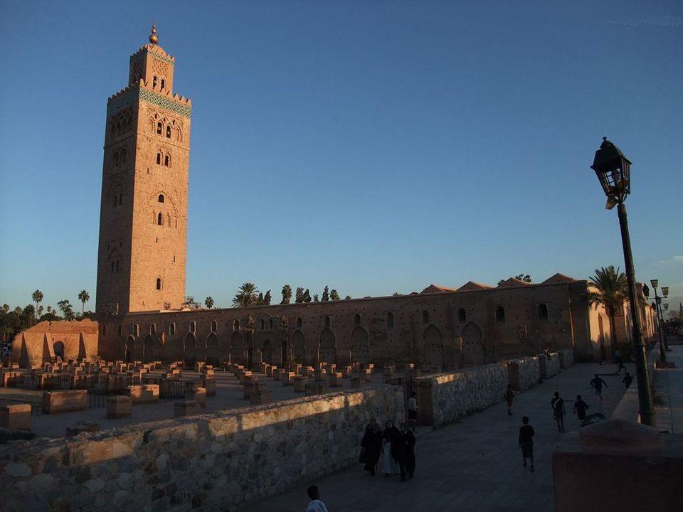 Minaret de la Koutoubia l emblème de Marrakech - Maroc