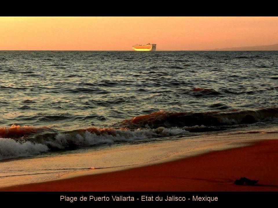 Plage de Puerto Vallarta - Etat du Jalisco - Mexique