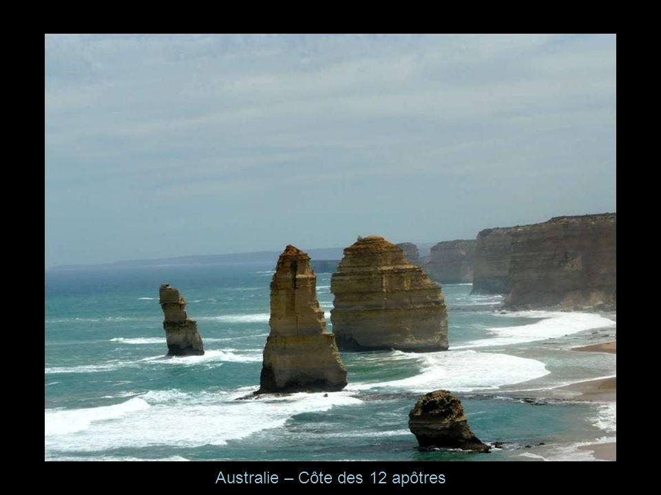 Australie – Côte des 12 apôtres