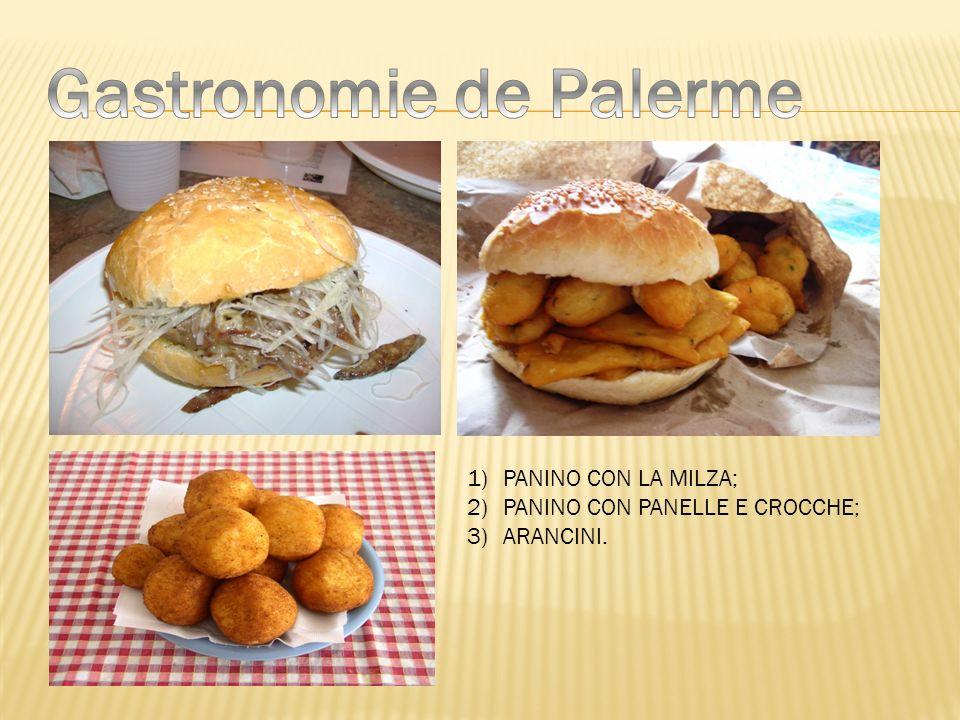 Gastronomie de Palerme