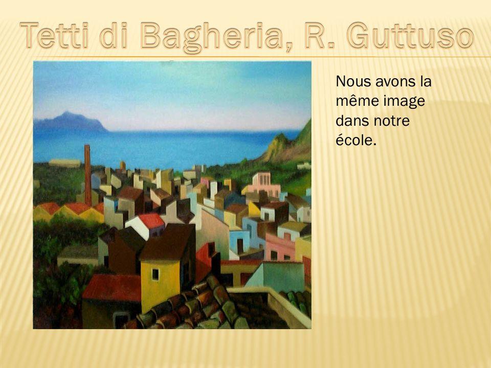 Tetti di Bagheria, R. Guttuso