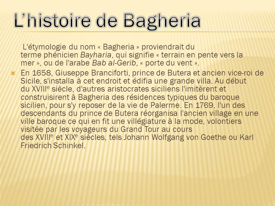 L'histoire de Bagheria