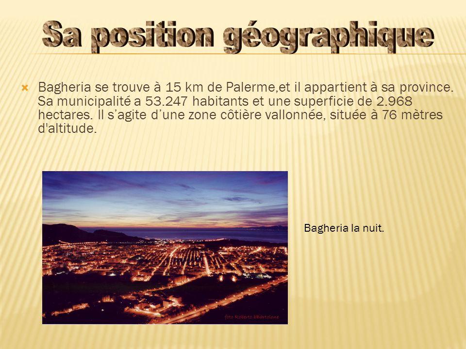 Sa position géographique