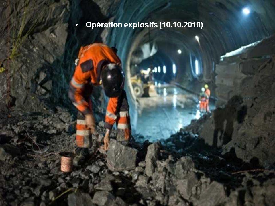 Opération explosifs (10.10.2010)