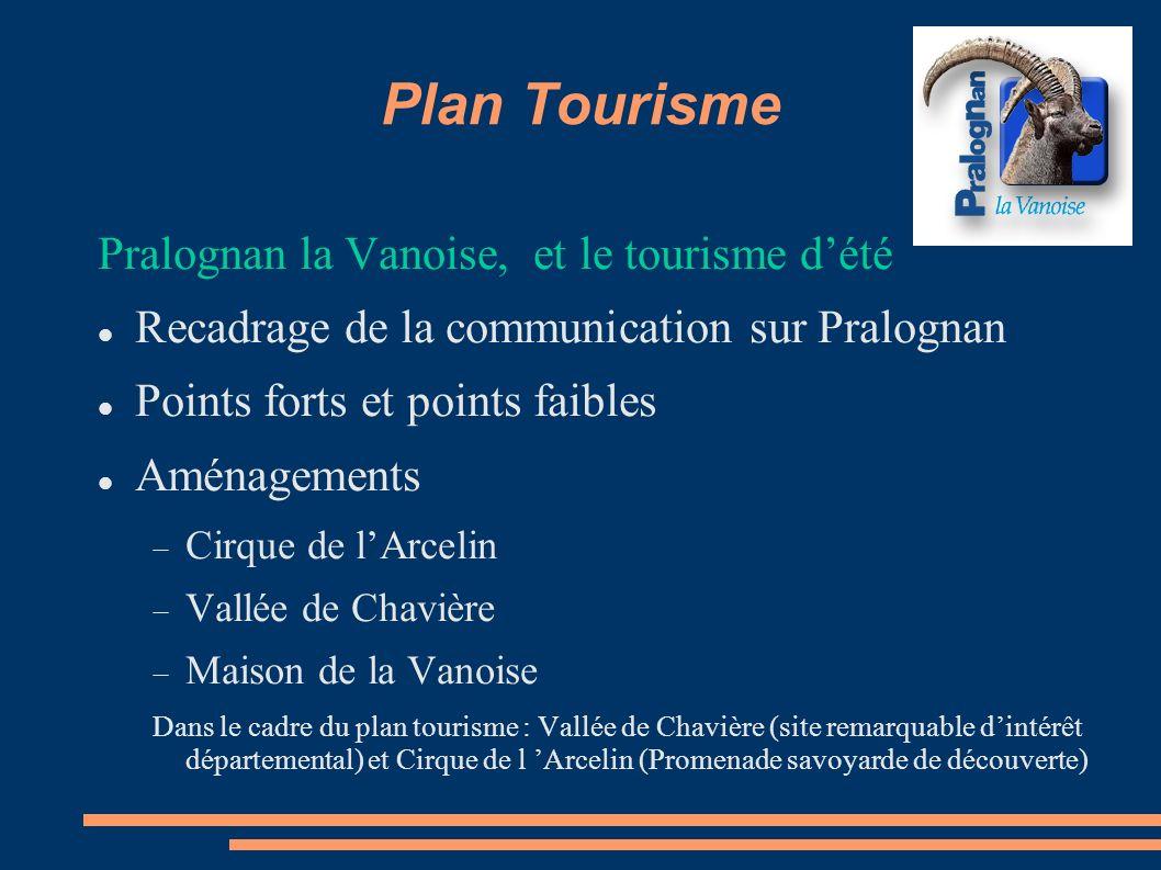 Plan Tourisme Pralognan la Vanoise, et le tourisme d'été