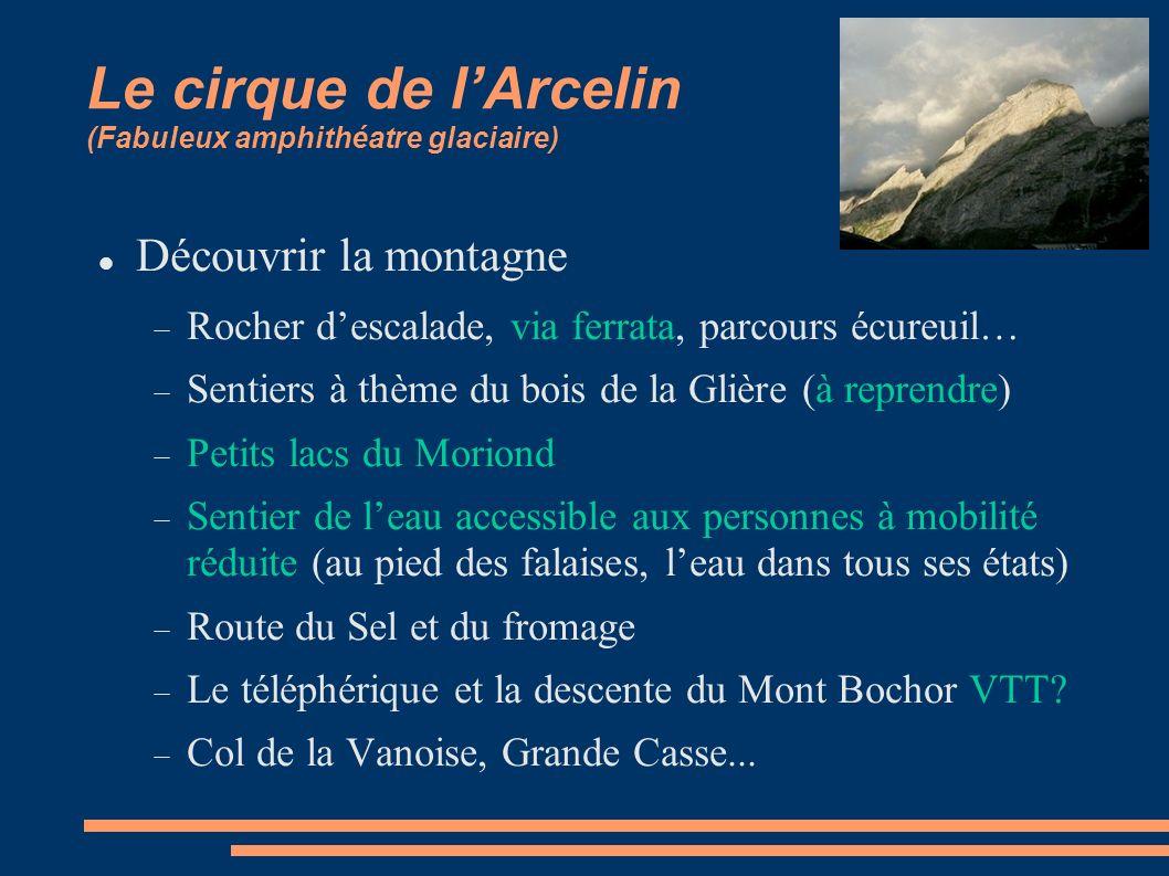 Le cirque de l'Arcelin (Fabuleux amphithéatre glaciaire)