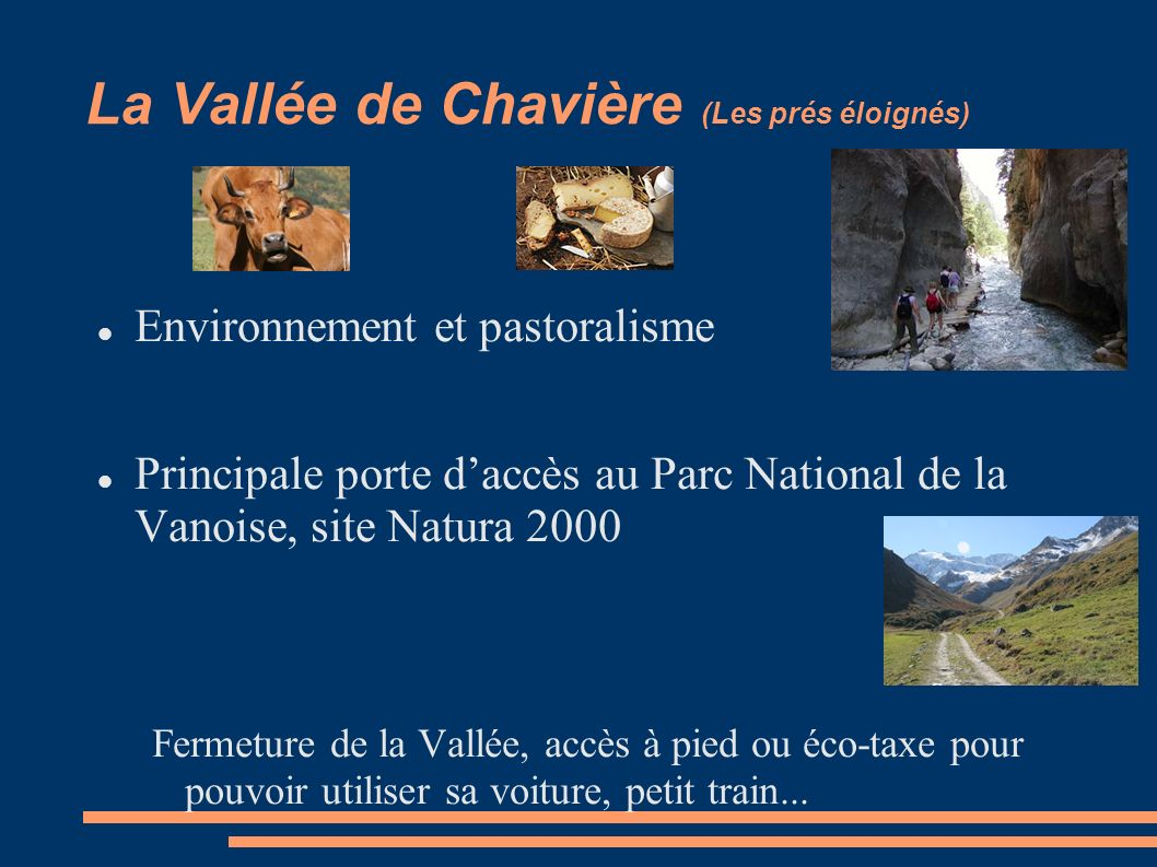 La Vallée de Chavière (Les prés éloignés)