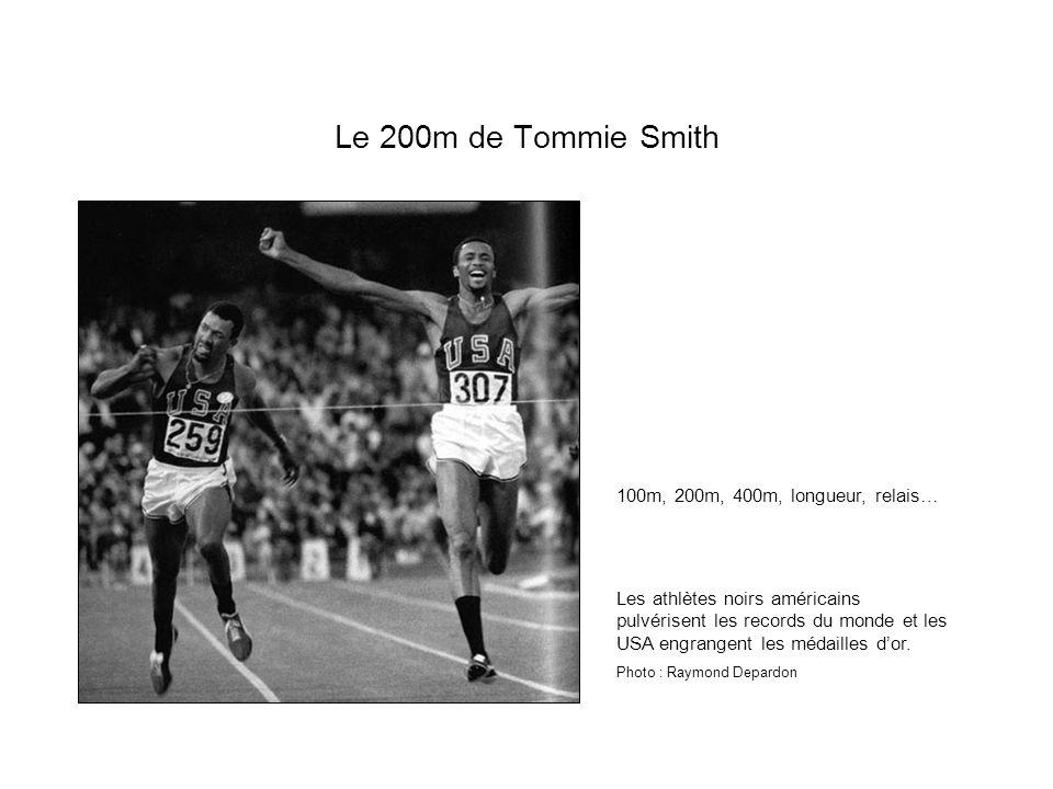 Le 200m de Tommie Smith 100m, 200m, 400m, longueur, relais…