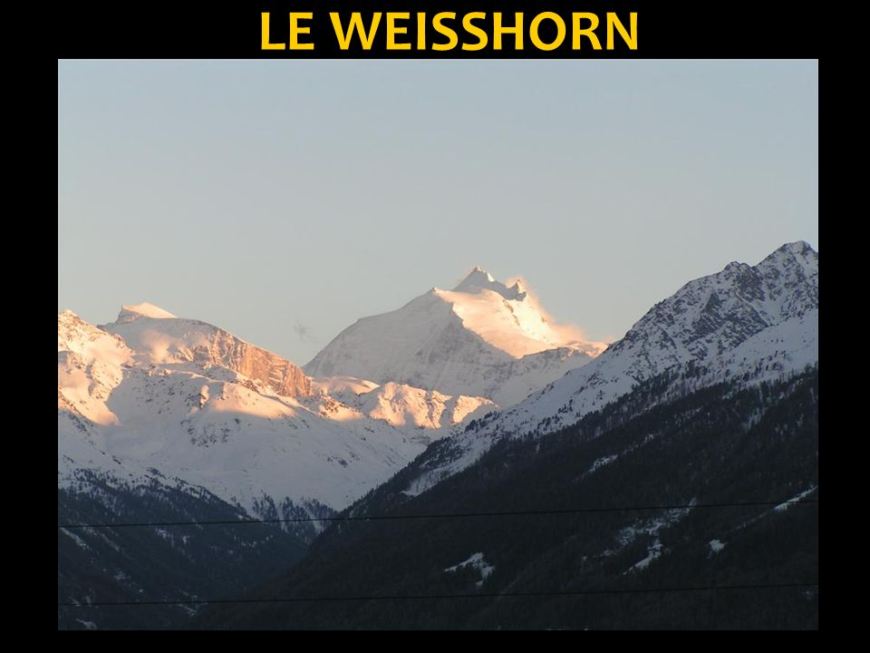 LE WEISSHORN