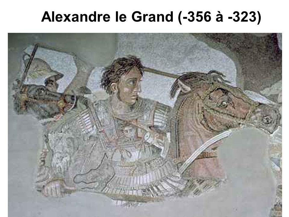 Alexandre le Grand (-356 à -323)