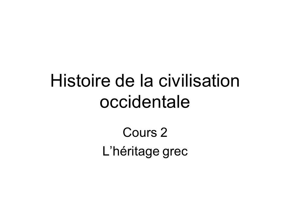 Histoire de la civilisation occidentale
