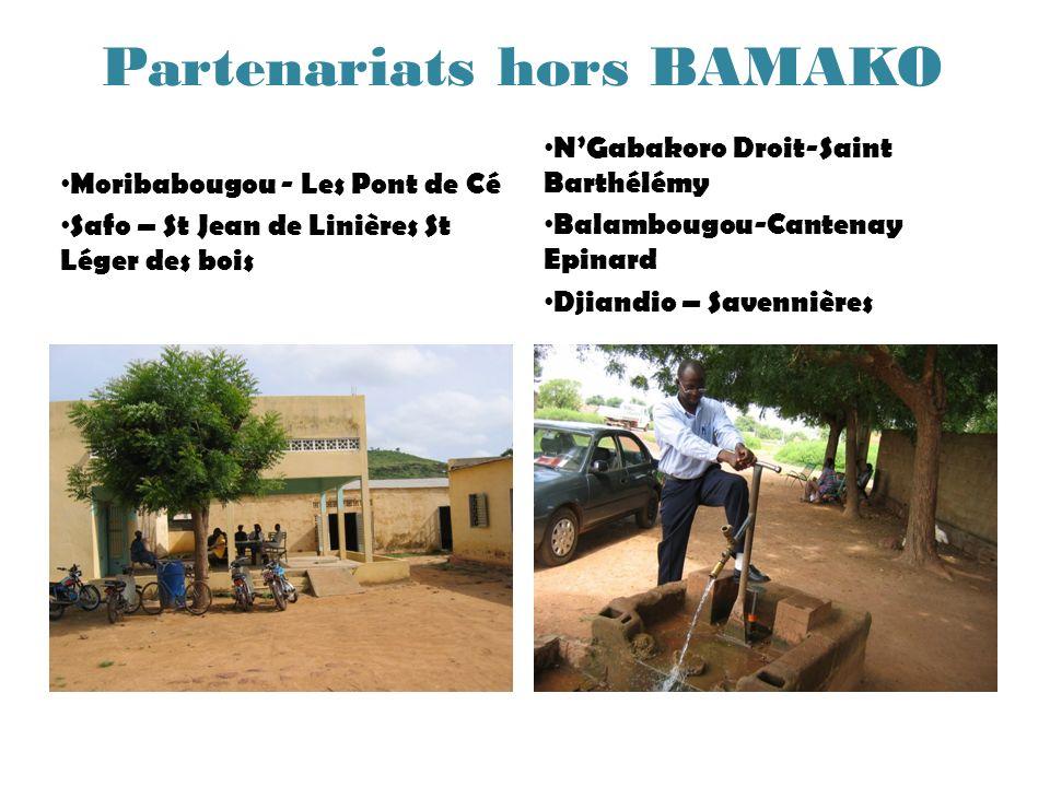 Partenariats hors BAMAKO