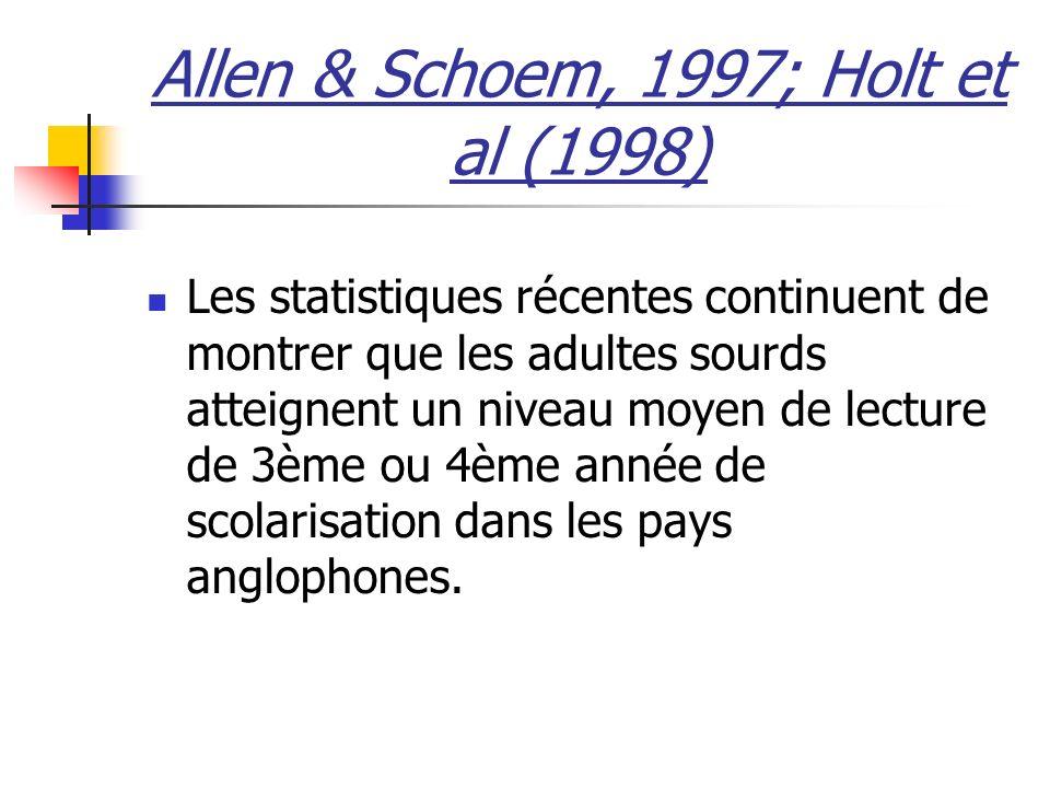 Allen & Schoem, 1997; Holt et al (1998)