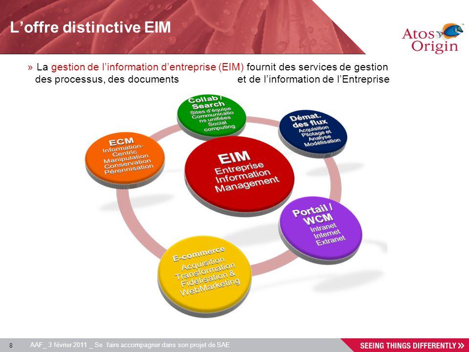 L'offre distinctive EIM