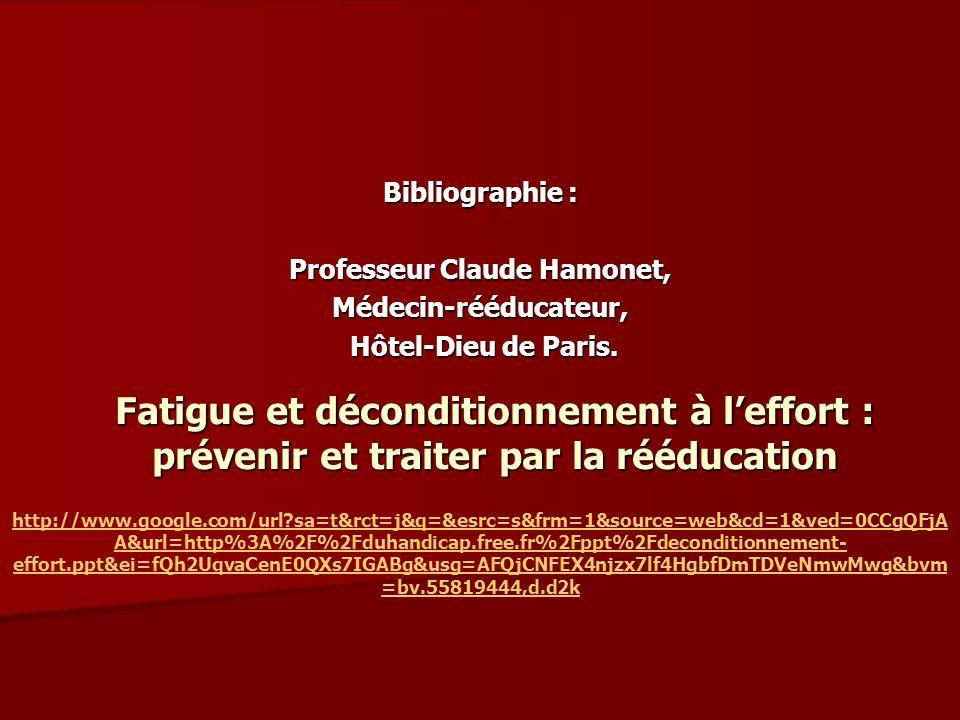Professeur Claude Hamonet,