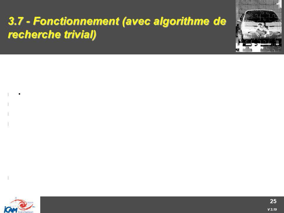 3.7 - Fonctionnement (avec algorithme de recherche trivial)