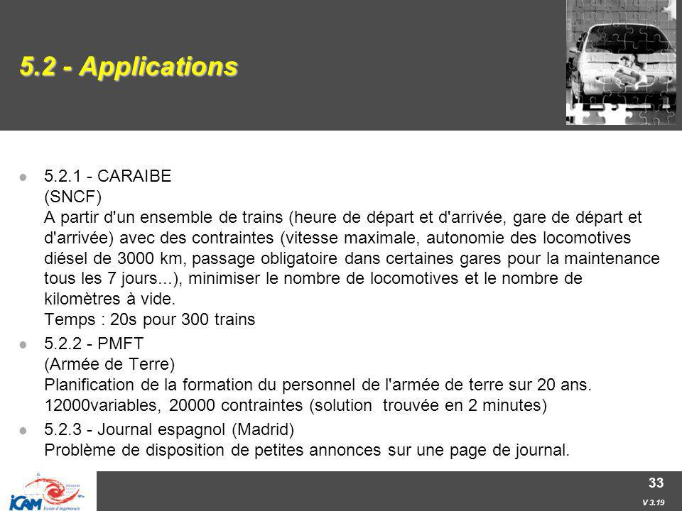 5.2 - Applications