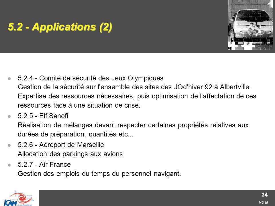 5.2 - Applications (2)