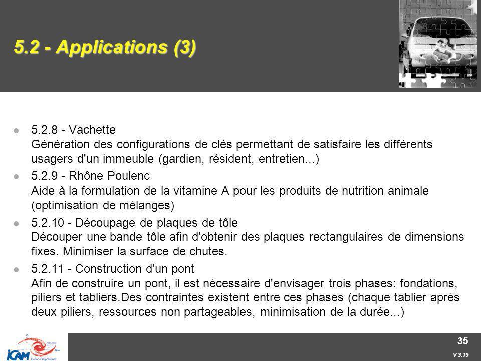 5.2 - Applications (3)