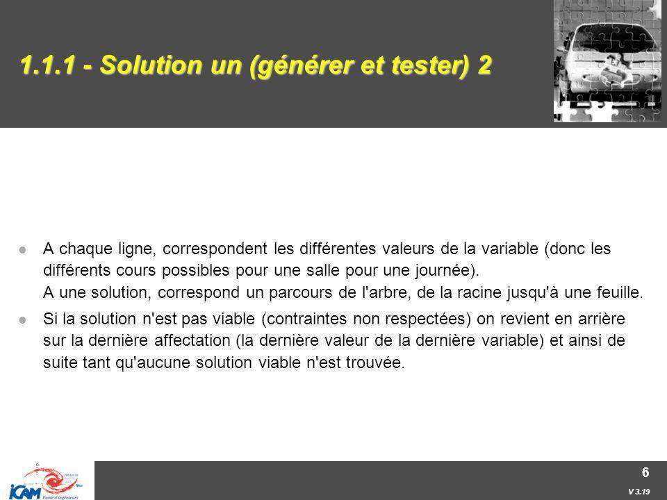 1.1.1 - Solution un (générer et tester) 2