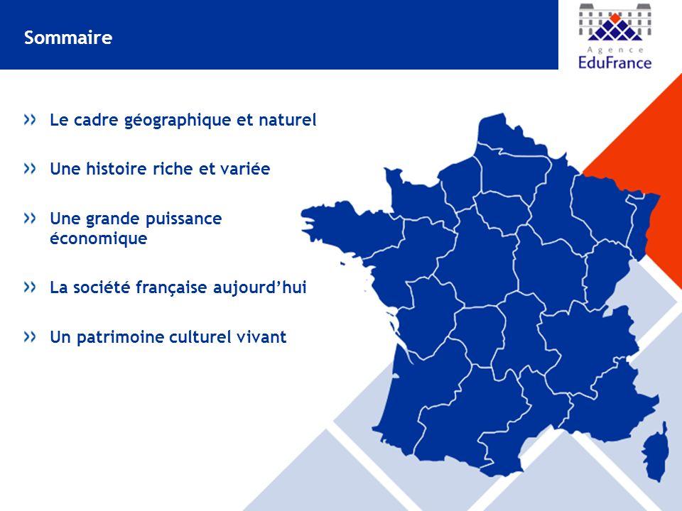 Sommaire Le cadre géographique et naturel Une histoire riche et variée