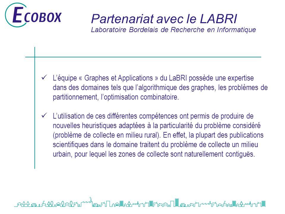 Partenariat avec le LABRI