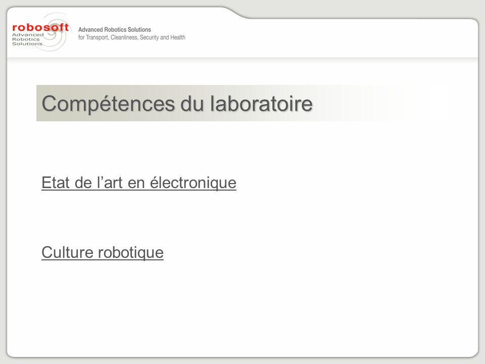 Compétences du laboratoire