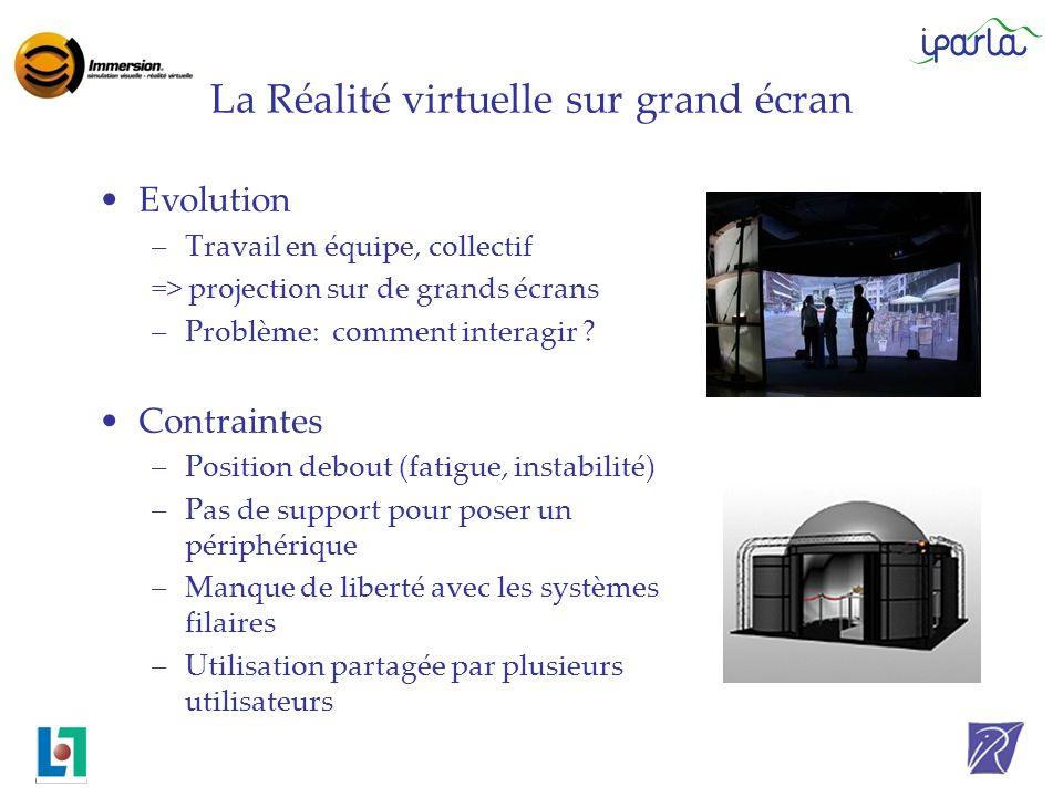 La Réalité virtuelle sur grand écran