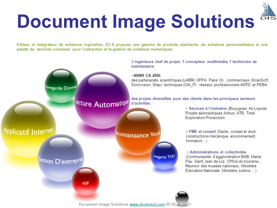 Document Image Solutions
