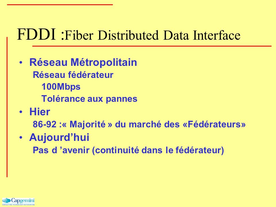 FDDI :Fiber Distributed Data Interface