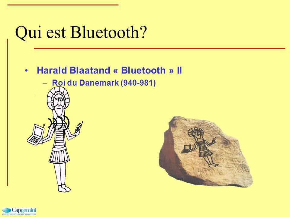 Qui est Bluetooth Harald Blaatand « Bluetooth » II