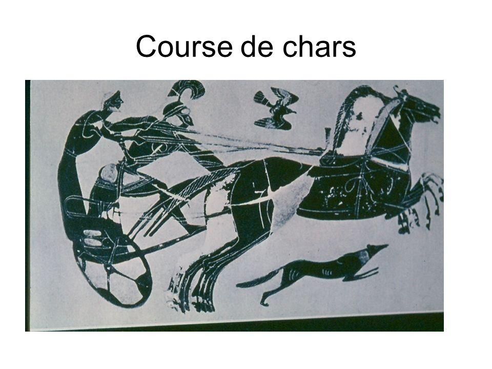 Course de chars