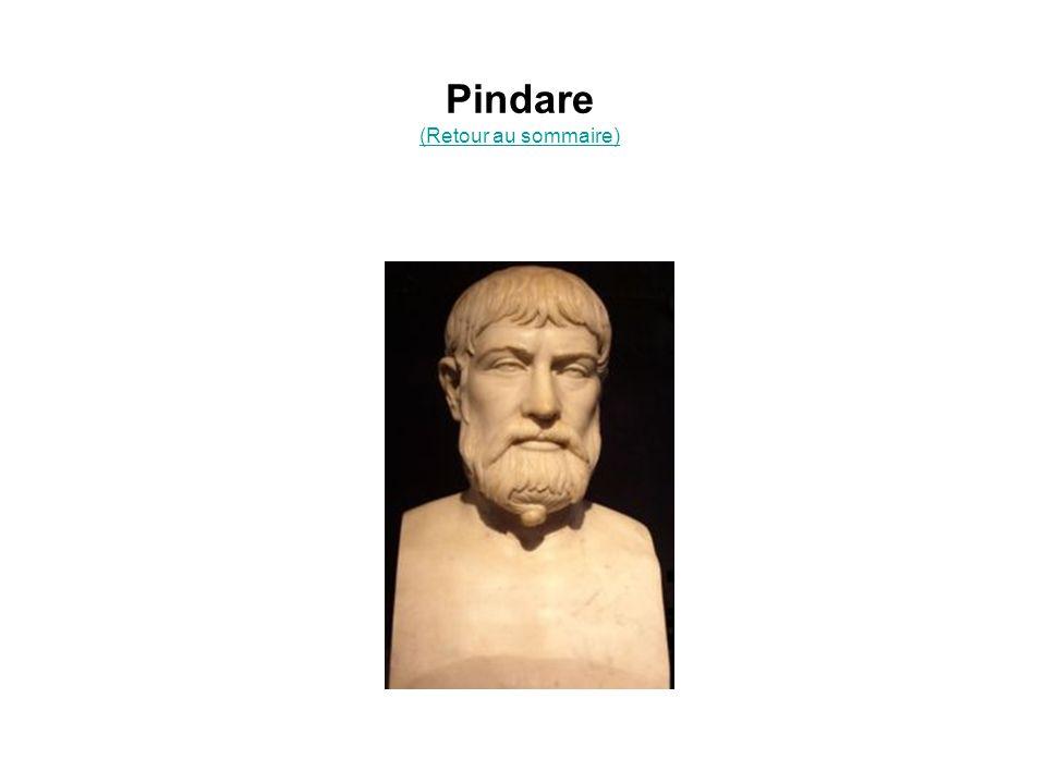 Pindare (Retour au sommaire)