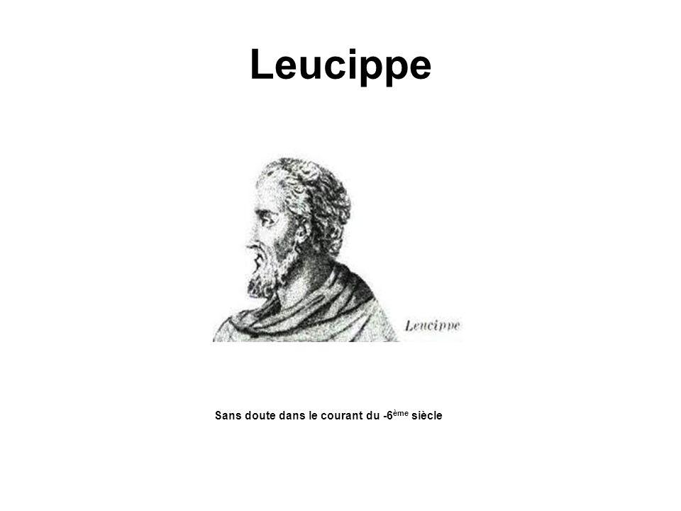 Leucippe