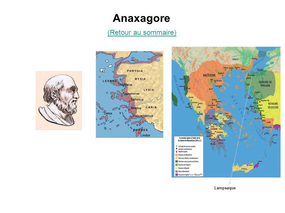Anaxagore (Retour au sommaire)