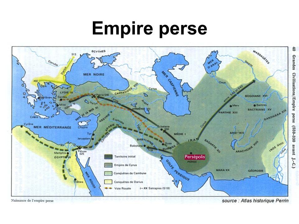 Empire perse Les Perses.