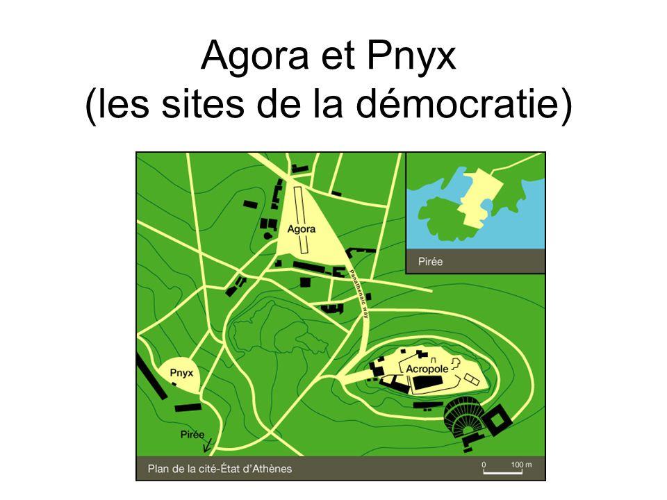 Agora et Pnyx (les sites de la démocratie)