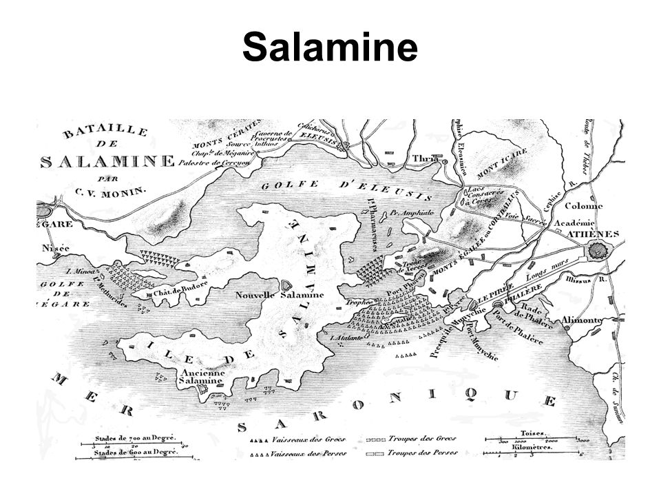 Salamine Salamine.