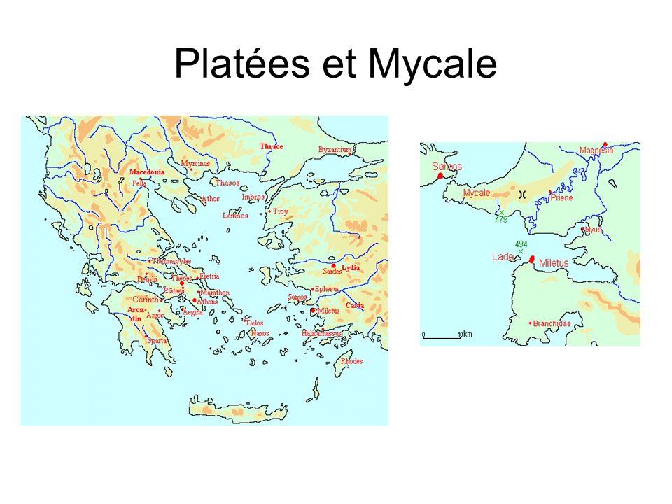 Platées et Mycale Platées et Mycale.